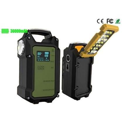CDP Arrancador de Baterías V8 Heavy Duty 36000mAh (12V – 24V)