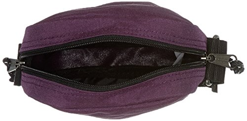 Eastpak The One Borsa a Tracolla, 2.5 Litri, Grigio (Black Denim) Viola (Magical Purple)