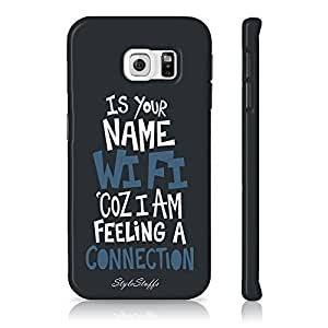 StyleStuffs Printed Back Case for Samsung Galaxy S7 Edge