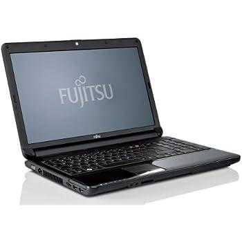 Fujitsu Lifebook AH530 39,6 cm (15,6 Zoll) Notebook (Intel Pentium P6200, 2,1GHz, 4GB RAM, 500GB HDD, Intel HD Grafik, DVD, Win7 HP) hochglanz schwarz