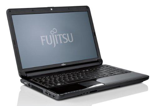 Fujitsu Lifebook AH530 39,6 cm (15,6 Zoll) Laptop (Intel Pentium P6200, 2,1GHz, 4GB RAM, 500GB HDD, Intel HD Grafik, DVD, Win7 HP) hochglanz schwarz Fujitsu Bluetooth Laptops
