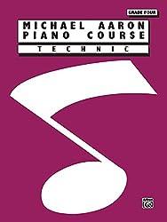 Michael Aaron Piano Course  Technic  Grade 4