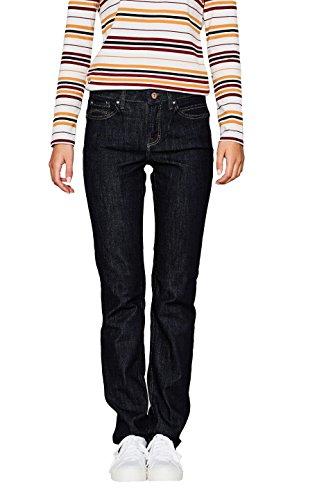 edc by ESPRIT Damen Straight Jeans 087CC1B034, Blau (Blue Rinse 900), W31/L32