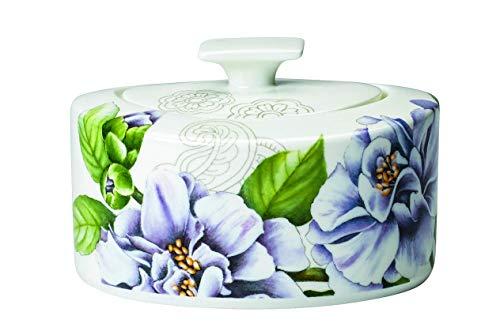 Villeroy & Boch 10-4380-0960 Quinsai Garden Zucker-/Marmeladendose, Porzellan
