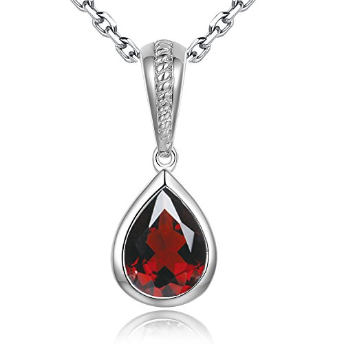Collier Pendentif Pierre porte-bonheur sh-star Harvest Elements usure Pomegranate Red