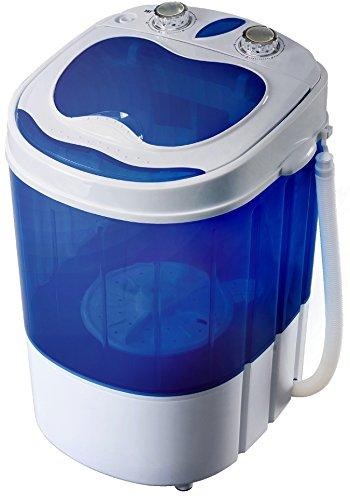 Mini Waschmaschine mit Schleuder | Waschautomat bis 3 KG | Reisewaschmaschine | Miniwaschmaschine | Camping Mobile Waschmaschine | Toploader | Schleuderfunktion