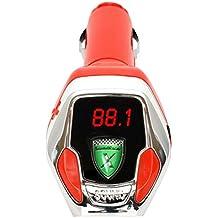 SoundRacer GH-SRVX SoundRacer X avec fente Micro SD Rouge