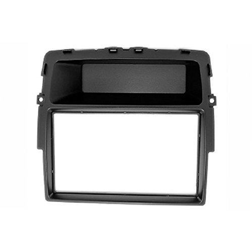 carav 11-463 Doppel DIN Autoradio Radioblende DVD Dash Installation Kit für Primastar (J4) 2011 +, Vivaro (X83) 2010 +, Trafic II (EL/FL/JL) 2011 + ohne Bordcomputer mit 173 * 98 und 178 * 102 mm