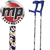 MP Essentials Compact Funky Pattern Forearm Medical Stabilising Crutches - Pair
