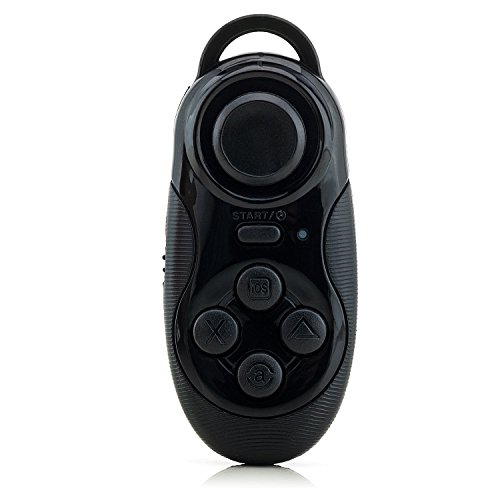 Saxonia Bluetooth Gamepad für Smartphone Tablet PC | Universal Wireless Fernbedienung Gaming...