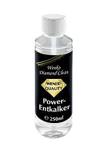 WENKO 8035414100 Anticalcaire Diamond Clean System-Lot de 2 pour les robinets capacité 0,25 L en silicone Gris