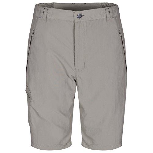 Regatta Herren Leesville Shorts gebrochenes weiß - Kieselgrau