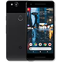 "Google Pixel 2 64GB 5"" 12MP SIM-Free Smartphone in Just Black"