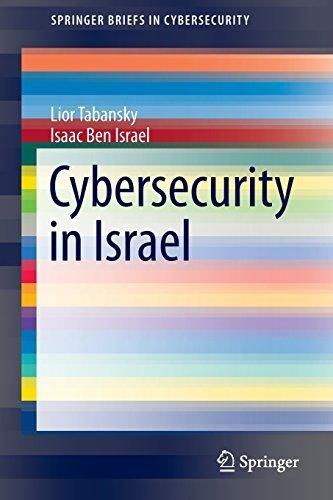 Cybersecurity in Israel (SpringerBriefs in Cybersecurity) by Lior Tabansky (2015-09-23)