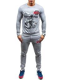 BOLF – Sweatshirt de sport – Pantalons de sport – Survêtement – Sport – Training – Homme 8H8