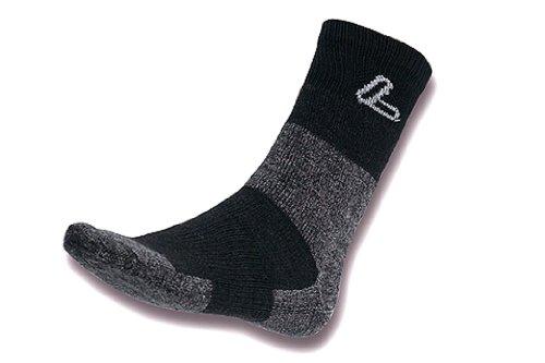 Racer Transtex Socken, Schwarz/Grau, 36-38 (Racer Socken)