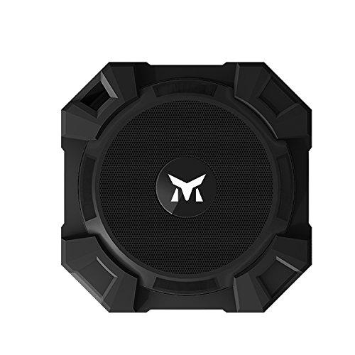 Monstercube Armor Tragbarer Bluetooth Lautsprecher Kabellose Outdoor Sport Speaker mit 5W Treiber und Reinem Bass, Schwarz