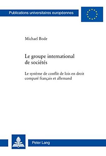 Le Groupe International De Societes: Le ...