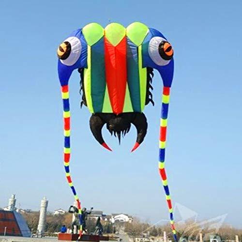 ZSYF Drachen Kite 10 M 2 Trilobiten Großen Weichen Drachen Bar Nylon Ripstop Stoff Alien Aufblasbaren Drachen Drachen Drachen Vogel