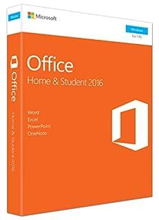 Microsoft Office Home and Student 2016 | PC | Box (B01EZU2GZW) | Amazon Products