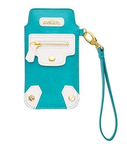 Apple iPhone 6S / 6 Melkco Hex-Rock Série Rocher Pochette PU Case Et Crafted main Porte-monnaie stand Case Fashion Wallet Carlo Vert clair / Blanc 1