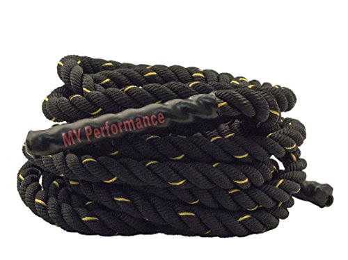 Battle Rope Sportseil Schwungseil Fitnessseil Trainingsseil von MyPerformance