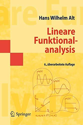 Lineare Funktionalanalysis: Eine anwendungsorientierte Einführung (Masterclass)