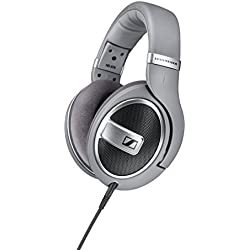 [Cable] Sennheiser HD 579 - Auriculares de diadema abiertos (6.3 mm/3.5 mm), color gris