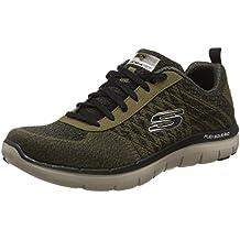 Skechers DiamondbackPazen 63617 - Zapatillas para hombre, color verde, talla 42