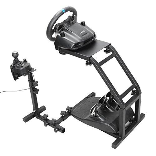 OldFe Steering Wheel Stand Per Logitech G27 G25 E G29Volante Con Supporto V2 Supporto Giochi Solo Supporto Ruota E Pedale Non Incluso