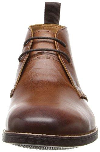 Clarks - Novato Mid, Stivali Uomo Cognac Leather