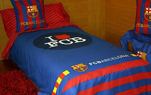 Juego de sábanas FC Bacerlona FUTS06 (para cama de 90x190/200)