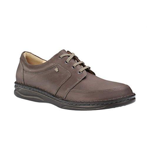 FINN COMFORT - Norwich - Herren Halbschuhe - Grau Schuhe in H Weite Grau