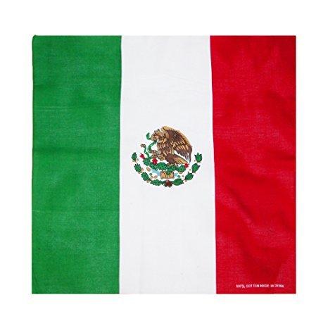 Mexikanische Flagge Bandana Mexiko Bandana Haiti Flagge Bandana Haarband brasilianisches Tuch Kopfband Deutsche Tuch Haarband Portugiesisch Tuch Haarband, Bandana, Mexican Flag Bandana, Large -