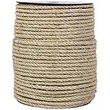 Cofan 08101057A - Cuerda de sisal de 4 cabos (6 mm x 100 m)