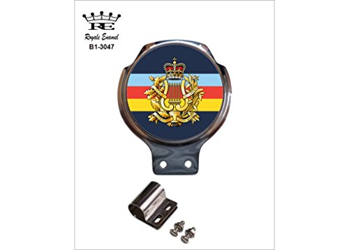 Preisvergleich Produktbild Royale Emaille Royale Auto Scooter Bar Badge – Corps of Army Musik Camus TRF-B1. 3047