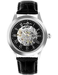 Swiss Military SM-89 - Reloj analógico de cuarzo para hombre con correa de caucho, color negro