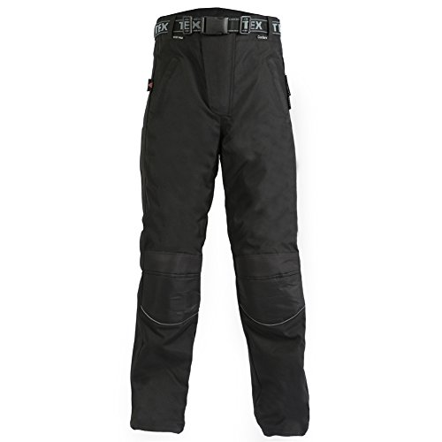 Texpeed Black Waterproof Over Trousers (Reissverschluss Ykk-chap)
