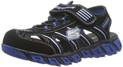 skechers pillar sandal jungen sandalen schwarz bkry 28 eu schuhe handtaschen. Black Bedroom Furniture Sets. Home Design Ideas