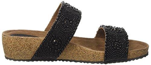 MELLUSO Damen K80054 Offen sandalen Schwarz