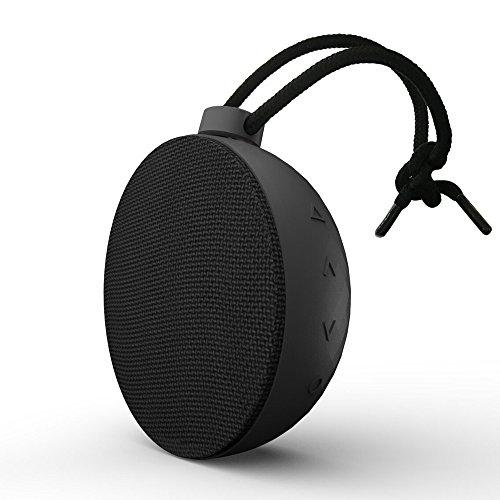 AlierGo SoundAce mini Enceinte Bluetooth Portable,Autonomie de 8 Heures,orté Bluetooth de 20 m, résistance waterproof IPX5 et microphone intégré