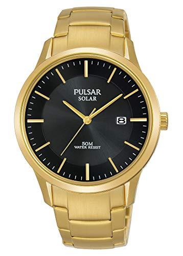 Pulsar Reloj Analógico para Hombre de Cuarzo con Correa en Acero Inoxidable PX3162X1