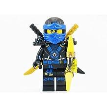 LEGO® Ninjago: Deepstone Jay Blue Ninja Minifigure Yellow Aeroblade