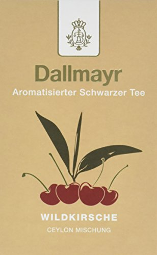 Dallmayr Aromatisierter Schwarztee – Wildkirsche, 8er Pack (8 x 100 g )