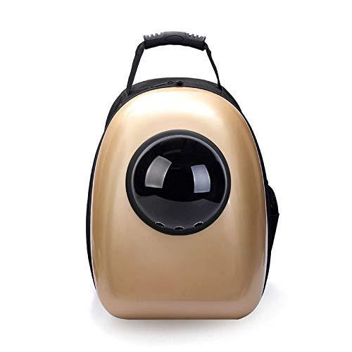 QHorse Hundetasche Katzentragetasche Reisetasche Katze Hund Rucksack, Puppy Pet Carrier Front Bag mit atmungsaktivem Head Out Design und Double Mesh gepolsterte Schulter für Outdoor L Hochwertige -