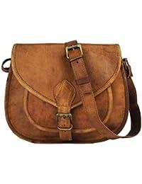"Handcrafted Leather Messenger Bag, 11"" Work Bag, Handmade Cross-body Bag, Retro Handbag ,Satchel , Hip Bag ,... - B01N3CJOFU"