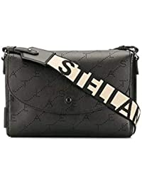 official photos bf7f2 36dd0 Stella McCartney Borsa A Spalla Donna 570304W84021000 Poliammide Nero