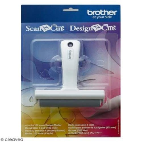 BROTHER Scan N Cut Druckroller, 10,2 cm, Kunststoff, Weiß