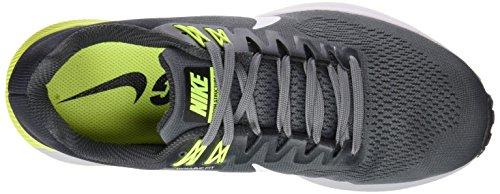 Nike Herren Air Zoom Structure 21 Laufschuhe Mehrfarbig (Cool Greywhiteanthracitevolt)