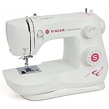SINGER Fashion Mate - Máquina de coser (Blanco, Máquina de coser automática, Costura